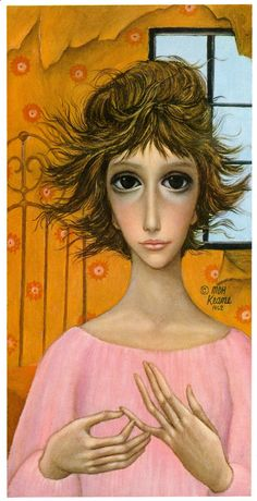 Big Eyes  Vintage Print Photo  1962 THE DILEMMA by EclecticByElynn