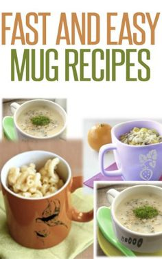 BESTSELLER! Fast And Easy Mug Recipes $0.99