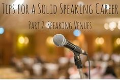 Tips to Build Your Speaking Platform #authors #marketing #books #speaking #events