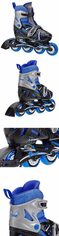 Youth 71156: Roller Skates For Boys Kids Inline Sports Gifts Adjustable Size 12-1 Soft Boot -> BUY IT NOW ONLY: $40.98 on eBay!