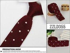 maroon knitted tie Knit Tie, Wedding Attire, Fashion, Moda, La Mode, Fasion, Fashion Models, Dress Wedding, Trendy Fashion