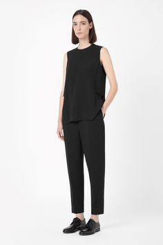 COS | Top with layered back