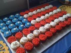 cake and cupcake display - Google Search