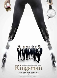 Bighit Tweet on April Fool Day 150401   [trans] The suit is a modern gentleman's armor, and the Kingsman are the new knights for you. #Onehand_Cola_Onehand_ARMYBomb Trans cr; Nika @ bts-trans