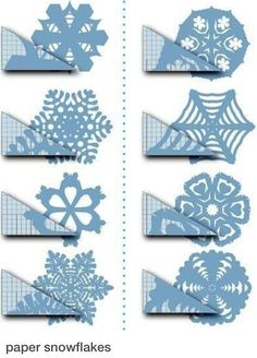 Make snow flakes