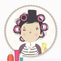 { dia de arrumar a juba  #debob #donaflorinda #hair #diadebeuaté