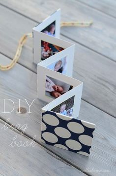 Mother's Day Gift Idea   DIY Brag Book by Nalle's House
