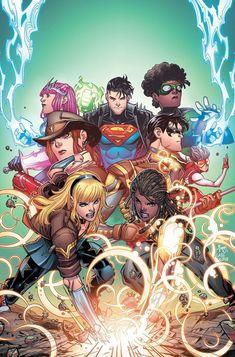 Marvel Dc, Marvel Comics, Batgirl, Young Justice Comic, Math Comics, Univers Dc, Arte Dc Comics, Mundo Comic, Batman And Superman