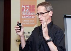 Richard Stacy sosyal medya semineri'nden...