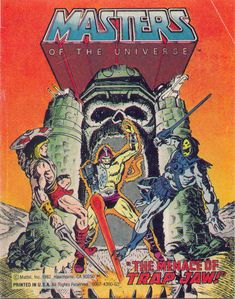 """The Menace of Trap Jaw"" mini-comic, included with the Masters of the Universe action figure"
