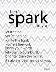 free | Art Print • Spark