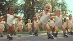evian babies - YouTube