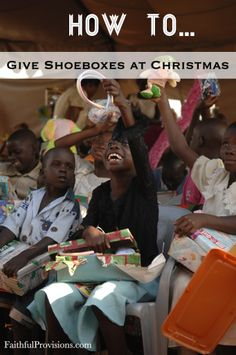 Giving shoeboxes for Christmas has become our family tradition and really, an ongoing project that we think about throughout the year. I love talking to people who are new to... Read More