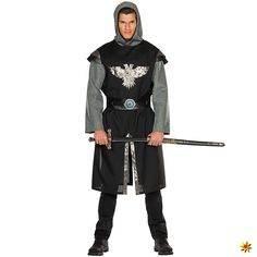 Herren Kostüm Ritter Endres           Größe         48 Dresses, Fashion, Chain Mail, Knight, Middle Ages, Dragons, Panelling, Long Sleeve, Birthday