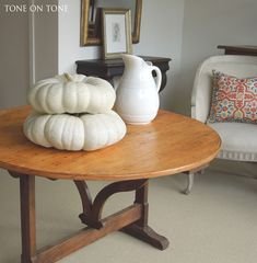 Tone on Tone: White Fall Decor and New Arrivals