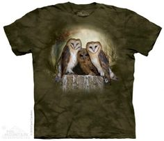 Three Owl Moon T-Shirt at theBIGzoo.com, a toy store that has shipped over 1.2 million items.