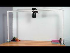 Diy Camera Slider, Diy Camera Strap, Camera Rig, Camera Tripod, Photography Lighting Setup, Lighting Setups, Light Photography, Home Studio Setup, Studio Ideas
