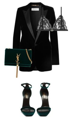 Untitled #45 by jestynenicole on Polyvore featuring polyvore, fashion, style, Yves Saint Laurent, Alexander McQueen and clothing