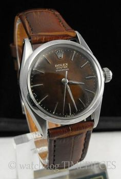 The only Rolex I can handle are old ones (before they became ostentatious arm weights). With that said, look at this nifty 1966 Rolex Speedking