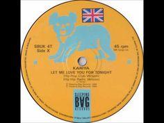 "Kariya - Let Me Love You For Tonight (Original House Club 12"" Mix ) - YouTube"