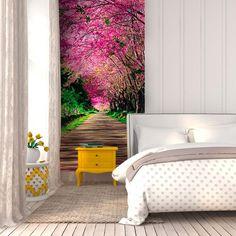 Fototapeta na stenu - alej | DIMEX Wall Murals, Stencil, Bed, Inspiration, Furniture, Home Decor, Wallpaper Murals, Biblical Inspiration, Decoration Home