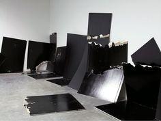 Steven Parrino - Gagosian Gallery2001