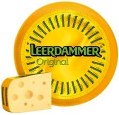 Leerdammer kaas.