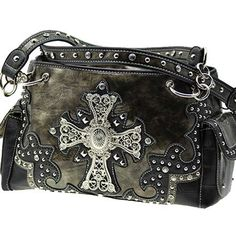 *+SOFT+LEATHERETTE+MATERIAL  *+TWO+CHAIN+AND+LEATHERETTE+STRAPS  *+FRONT+RHINESTONE+CROSS+ORNAMENT  *+TWO+SIDE+POCKETS  *+TOP+ZIP+CLOSURE+/+TWO+COMPARTMENTS  *+NEW+STYLE  Specification  MEASUREMENTS+12+(L)+X+11+(H)+X+4+(W)