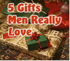 "Wondering What To Get a Man for Christmas? Men can be really hard to buy for.  They have the tendency to buy what they need for themselves, so we are left with the task of buying them what they want.   Asking them will do you no good, you will usually get ""I don't know"" or maybe &"