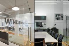 Winklevoss Capital Management office by BR Design Associates, New York City office