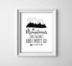 Art Print  Buy One Get One Free  The Mountains by ThePrintAnnex