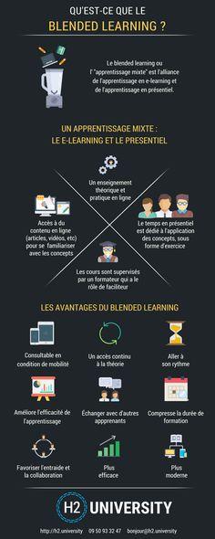 Infographie : Qu'est-ce que le Blended Learning ? | Le Blog H2 University