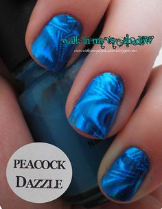 Walk In My Eye Shadow: Foil Focus Friday: Peacock Dazzle