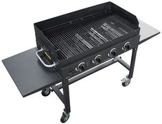Patio Portable Blackstone 36inch Gas Grill Box Back Yard BBQ Cooking Station #Blackstoneinch #Grill #Gas #Outdoor #Cooking