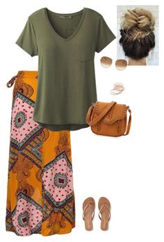 """Summer hair, don't care"" by dominiquemcain ❤ liked on Polyvore featuring Aéropostale, prAna, Red Camel, Chloé and country"