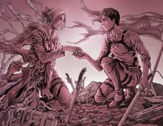 Always a Choice - Project Requiem by Terra7.deviantart.com on @DeviantArt (Annie and Eren)