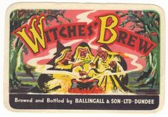 Ballingall & Son Witches' Brew Label