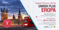 Paket Umroh Plus Eropa