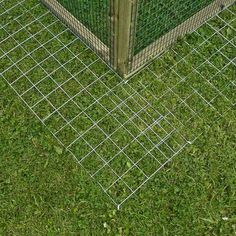 Skirt for Framebow Housing No-Dig Skirt for your Chicken Run, a simple solution to prevent Foxes and Badgers digging under your Poultry Run. The No-Dig Skirt is 10 inch wide strips of 2