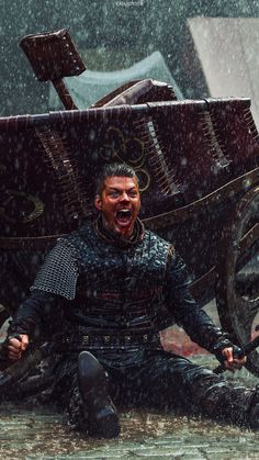 "Alex Høgh Andersen stars as Ivar the Boneless in 'The Vikings"" (History Channel - Ragnar Lothbrook, Ragnar Lothbrok Vikings, King Ragnar, Lagertha, Viking Berserker, Vikings Show, Vikings Tv Series, Bracelet Viking, Viking Jewelry"