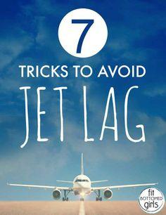 Tips to Avoid Jet Lag