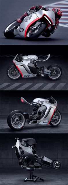 "The 'MONO RACR' is a virtual bike that began with a ""CLEAN and MEAN"" design philosophy built around a 1000cc Honda in-line 4 cylinder  motor... READ MORE at Yanko Design !"