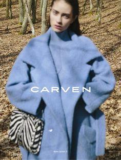 Carven FW FALL WINTER 13 campaign Model Marine Deleeuw Photographer Viviane Sassen