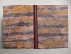 1992 – Goethe, Élégies romaines | by Cristina Balbiano d'Aramengo. Millimetre binding in leather and paper painted with ink