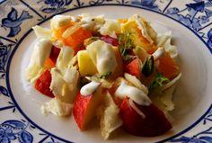 Receitas para a Felicidade!: Salada de Fruta com Funcho e Pistácios