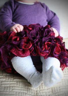 22 Best Ruffle Yarn Ideas images in 2016 | Ruffle yarn