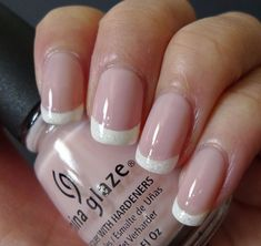 $6.17 - China Glaze Innocence Pale Pink Creme French Manicure Nail Polish Lacquer 72025 #ebay #Fashion