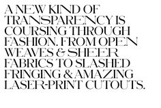 Schnyder Wide for T, the New York Times Style Magazine by Commercial Type.