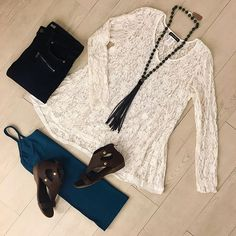 Saturday is for shopping our new arrivals! Have you been in to see all the new goodies in store?!  .  #newarrivals #boutique #style #fashion #surrealist #lace #blouse #zowee #leather #tassel #necklace #jeans #denim #ootd #saturday #perfectoutfit #shopping #mosaicdistrict #fairfaxcorner