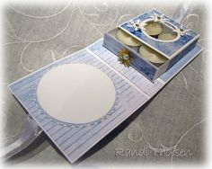 RANDI'S LITTLE BLOG: TUTORIAL ON CARD WITH TRAY INSIDE